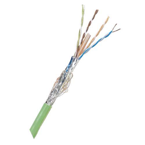 六类屏蔽SF/UTP,4P,PVC,线缆,500米/轴,蓝色